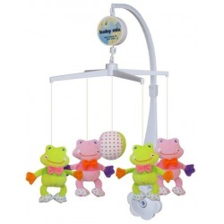 Carusel muzical Frogs :: Baby Mix